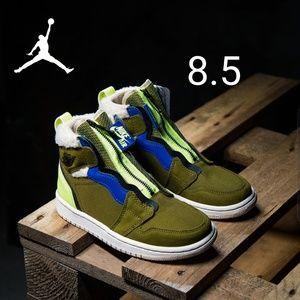 Air Jordan 1 High Zip Up Womens 8.5